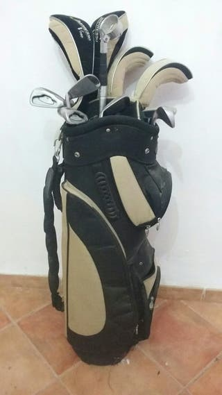 Set de palos de golf con funda