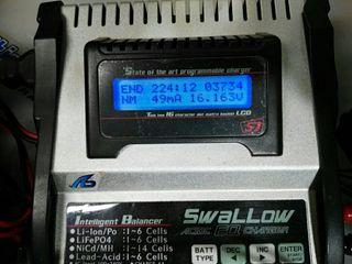 Cargador de baterias Swallow