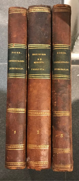 Libros antiguos medicina
