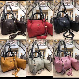 Women shoulder Bag - Leather