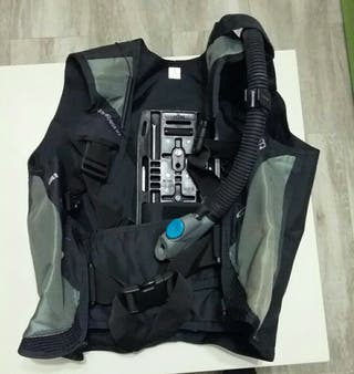 chaleco buceo talla s