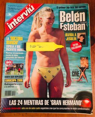 REVISTA INTERVIÚ NUMERO 1.261 BELEN ESTEBAN 2000