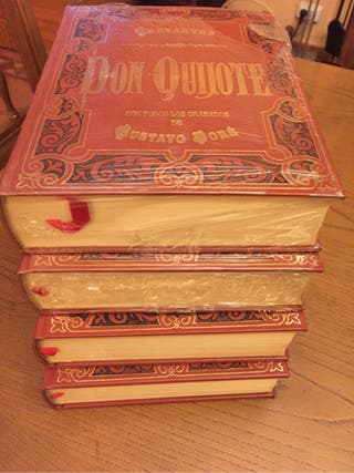 4 tomos Don Quijote, Cervantes