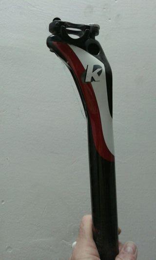 tija sillín carbono