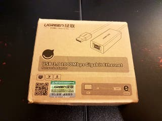 Adaptador ethernet usb 3.0