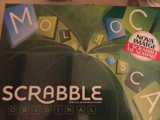 Scrabble juego mesa sin abrir