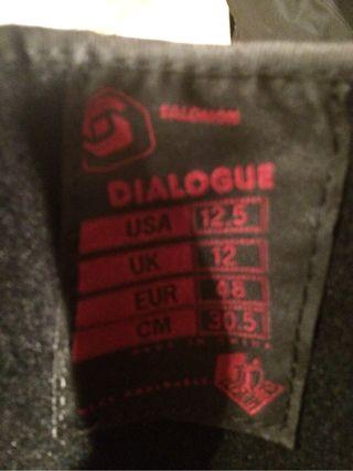 Botas snowboard SALOMÓN Dialogue