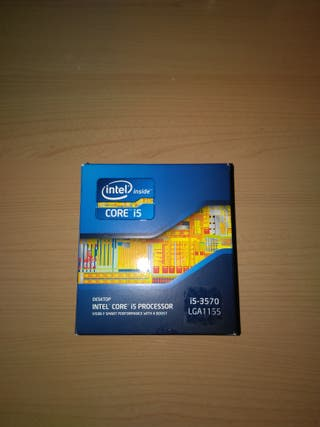 Procesador: Intel Core i5-3570 3.4ghz lga1155