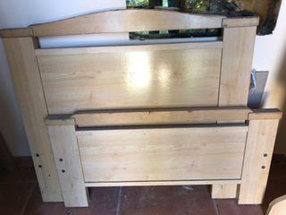Cama de 90 madera