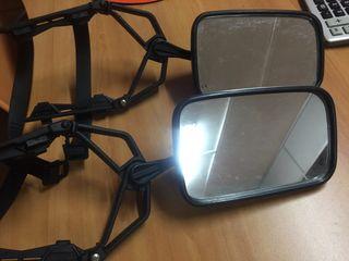 Espejos supletorios para llevar caravanas