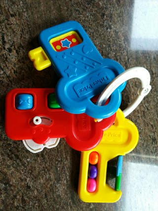 Llaves Fisher Price