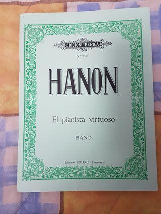 libro el pianista virtuoso hanon