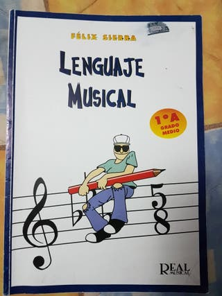 Libro lenguaje musical Felix 1 A