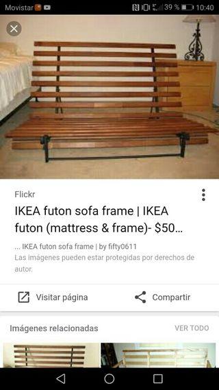 Futon Ikea Grankulla (descatalogado)