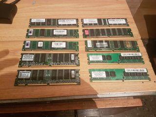Lote de Tarjetas de memoria de Ordemador PC