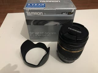 Objetivo Tamron 17-50mm 2.8 vc