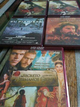 LOTE 5 HD- DVD