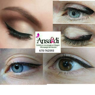 delineado permanente de ojos o Micropigmentacion