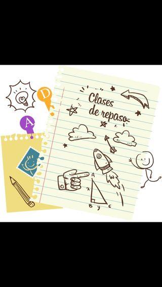 Clases de repaso Castellar-Oliveral o alrededores