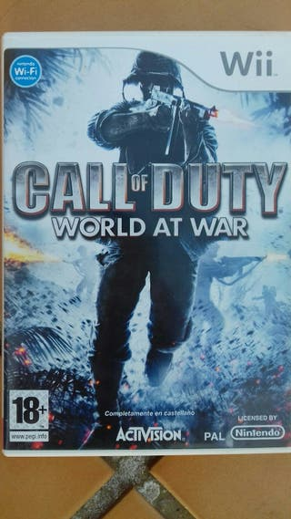 juego wii call of duty