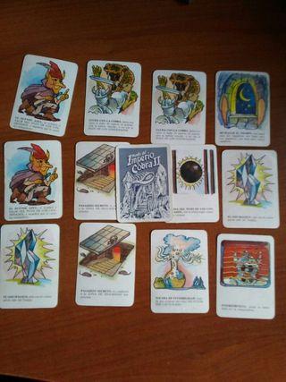 cartas juego cefa huida del imperio cobra