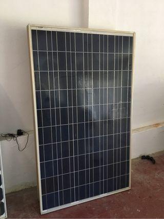 Paneles solares placas