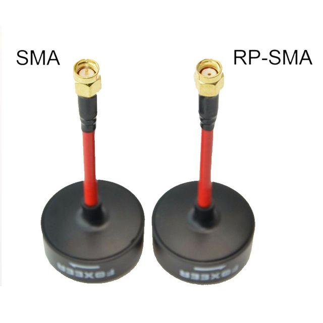 Antena Foxeer 5.8G FPV TX RX RHCP 3dBi Corta SMA R
