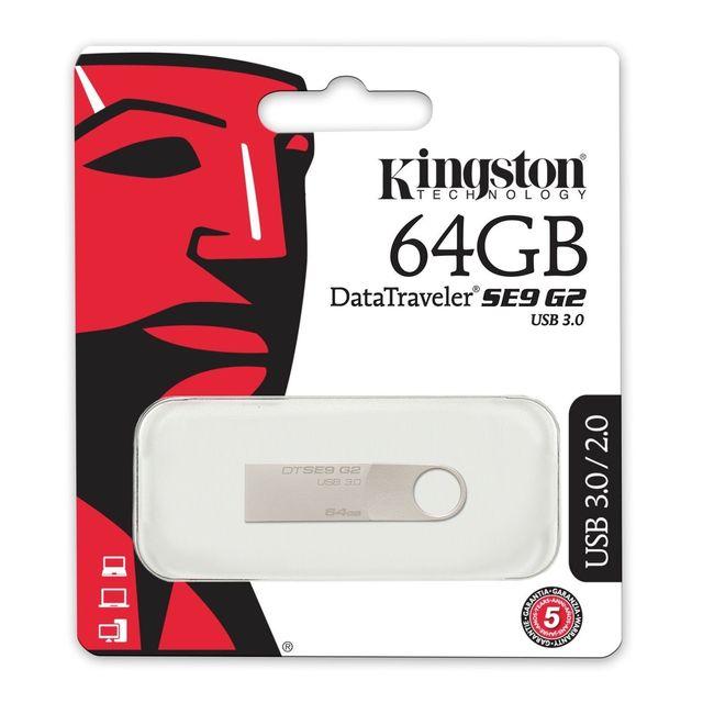 64GB Pendrive Kingston DataTraveler SE9 G4 Memoria