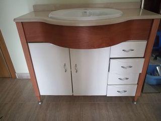 Mueble baño NUEVO + ESPEJO