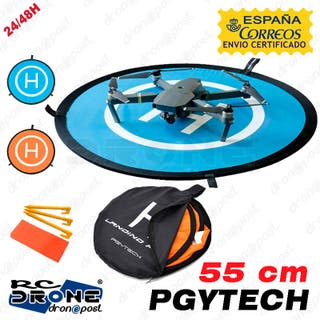 PGYTECH 55 cm Fast-fold landing pad. Pista de ater