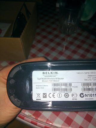 Router Wi-Fi punto de acceso belkin