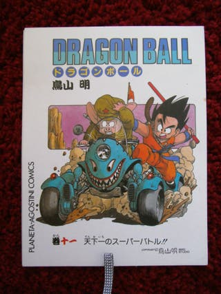 Postales blancas de Dragon Ball