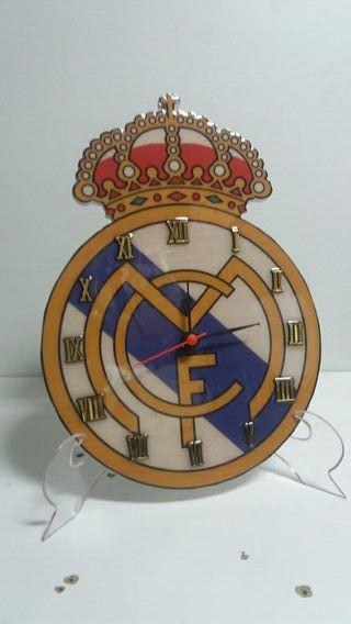escudo del real madrid de resina
