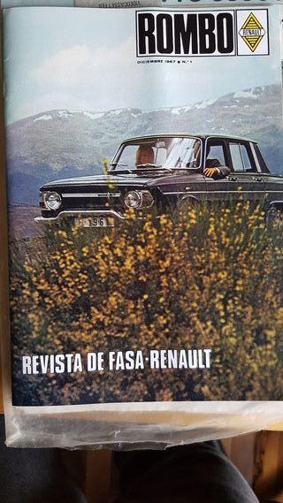 Revista ROMBO FASA-RENAULT N°1