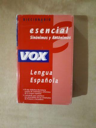 diccionario lengua española sinonimos..