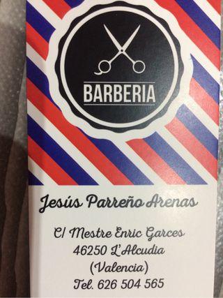 Servicio de barberia a domicil