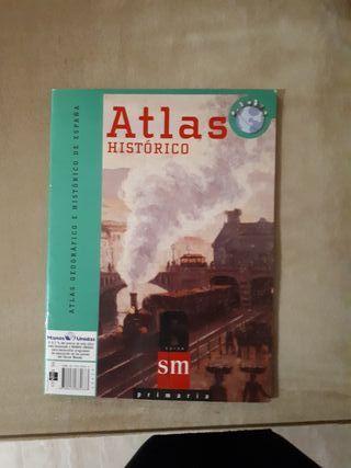 libro atlas histórico y geográfico