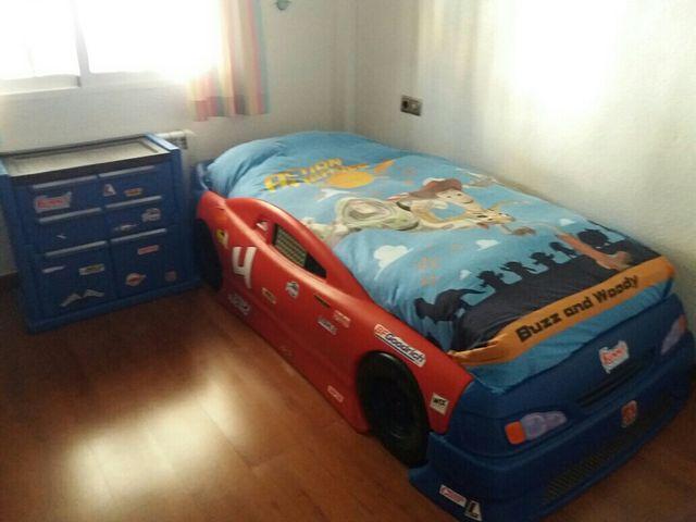 Cama coche infantil cama camita auto carro nio corvette for Cama nido color haya