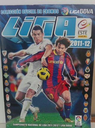 Album de cromos la liga 2012