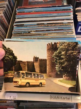 Postales antiguas años 50s 60s