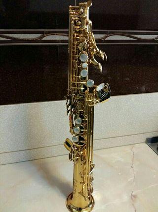 Saxofón Soprano Júpiter Profesional JSS-1100