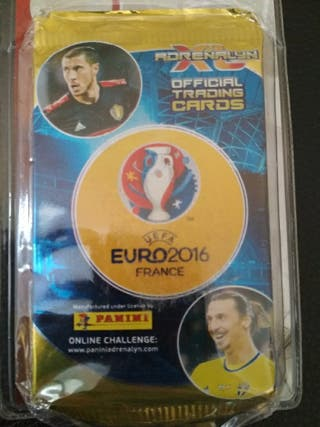 Adrenalyn euro Francia 2016. sobres + limitada