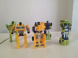 Lote Transformers G1 y G2 Constructicons