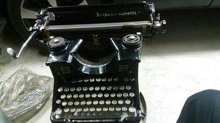 Maquina de escribir de los años 40