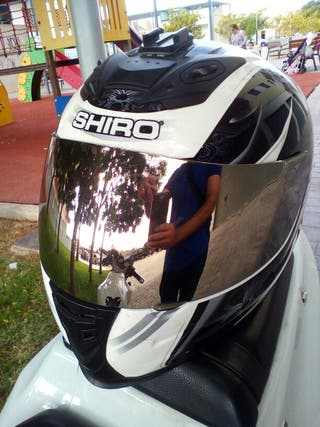 Cascos integrales Shiro