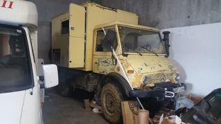 Mercedes Unimog 416 camión vivienda 4x4 1976