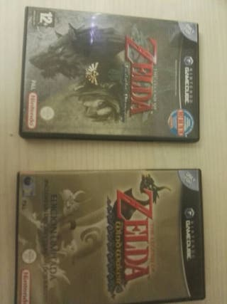 Twilight princess,wind Waker y ocarina of time GCB