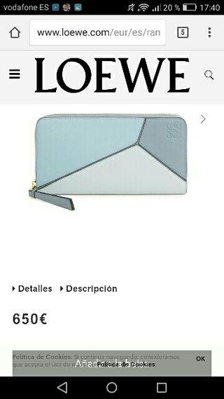 billetero cremallera /puzzle loewe