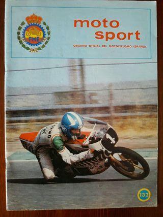 Revista Moto Sport N° 132 de la RFME.