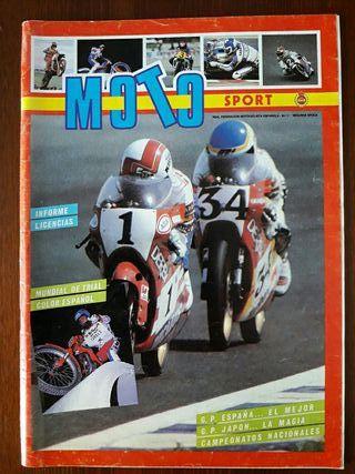 Revista Moto Sport N° 1 Segunda Epoca.